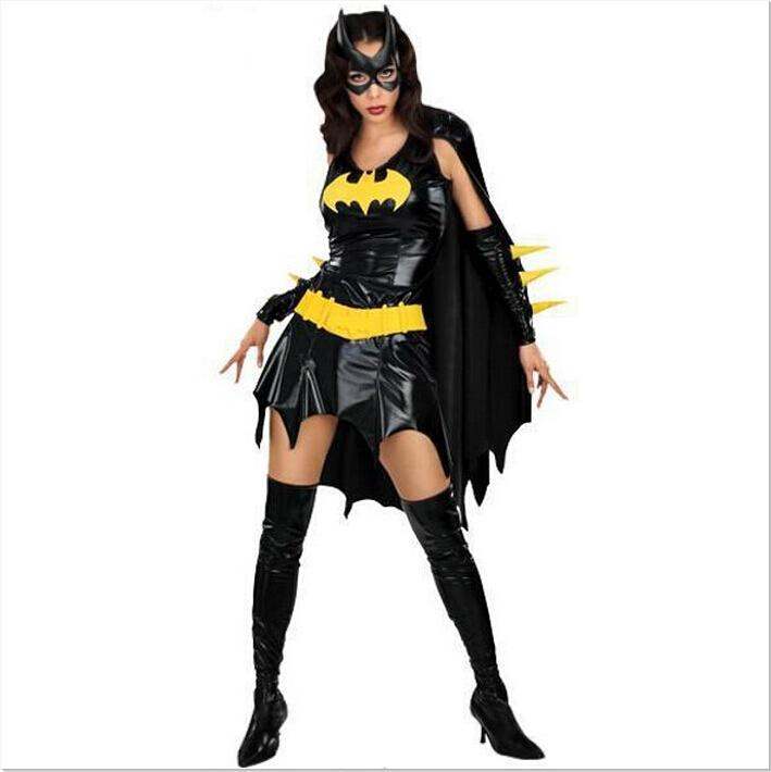 top sale halloween costumes women sexy batman costume role play role play animated cartoon costumes cosplay top quality apparel custom 5 person group - Sale Halloween Costumes