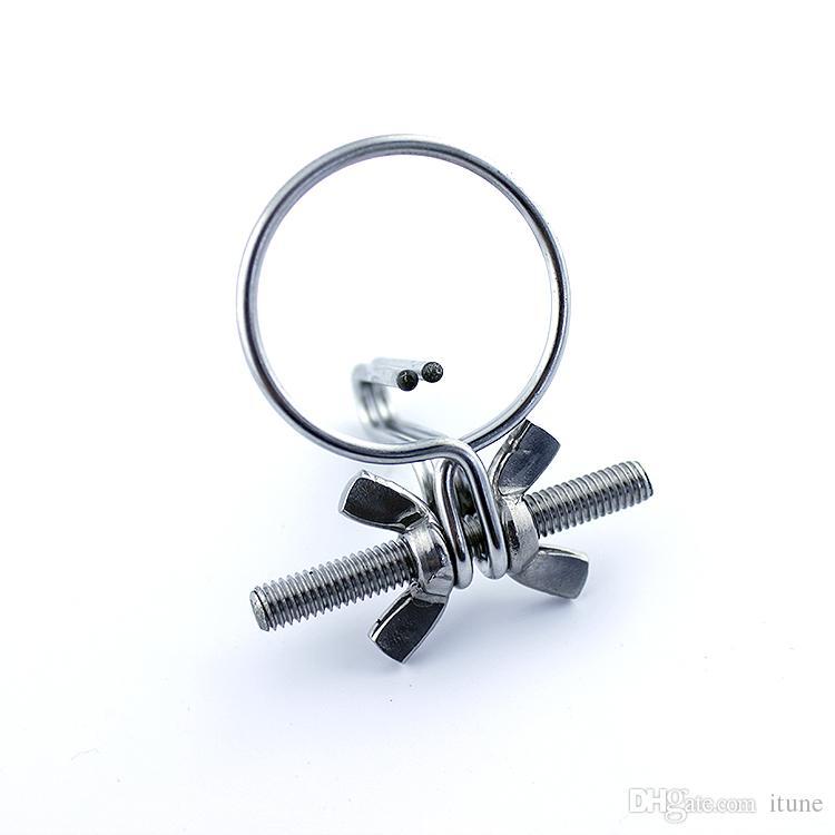 En acier inoxydable anneau pour le gland du pénis expand urètre urétral Fiche d'insertion Métal urétral Extension Urètre stimulant Sex toy Jeux A647
