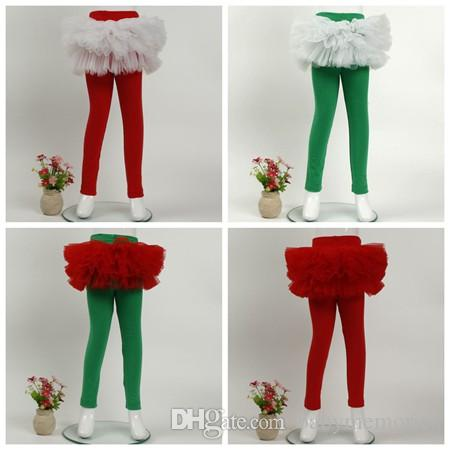 2018 toddler ruffle leggings tights tulle skirts pants kids cotton pant with tutus infant trousers girls boutique clothing baby legging cute baby toddler