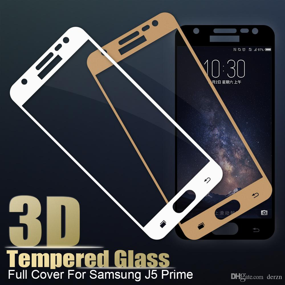 5b06001baeee18 For Samsung Galaxy J5 Prime 2017 Tempered Glass HD Full Cover Screen  Protector For Samsung J5 J7 Prime On7 On5 Screen Protector Film Top  Tempered Glass ...