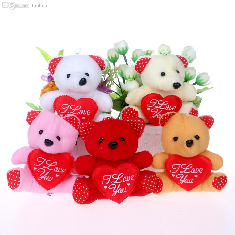 best wholesale i love you letter mini design baby girls teddy