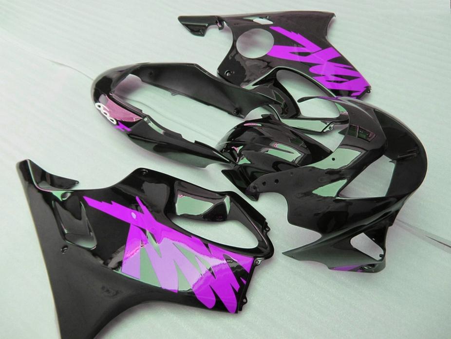 7Gifts Purple black Customize bodywork for Honda fairings 99 00 CBR 600 F4 fairing kit CBR600 F4 1999 2000 SOXT