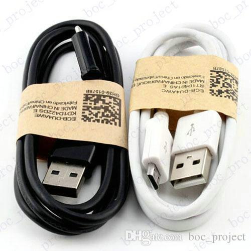 Micro USB 3.0 V8 зарядки кабель синхронизации данных для Samsung S6 edge S6 S5 S4 примечание 4 3 черный / белый 200 шт. / лот