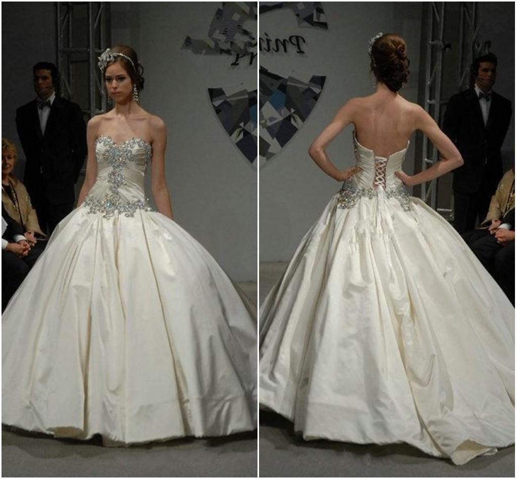 Beaded Ball Gown Wedding Dresses Pnina Tornai Plus Size Luxury ...