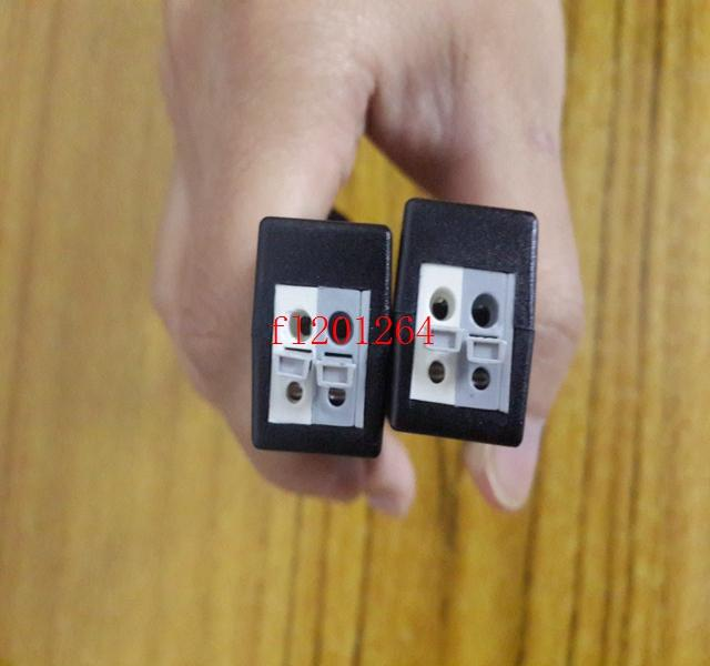 100 adet / grup  Yüksek Kaliteli Kamera CCTV BNC Basın-Fit Video Balun Telsiz Kablo HD TVI / CVI / AHD Adaptörü