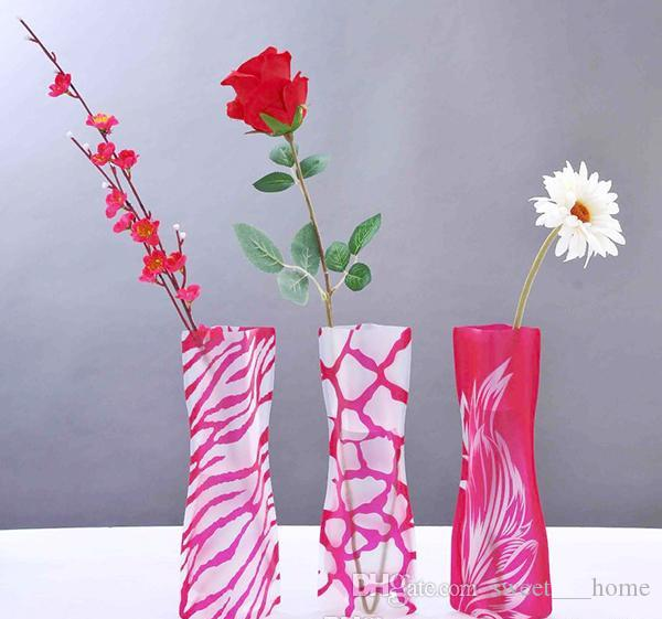 foldable vase wholesale weddings vases water bag pvc plastic rh dhgate com