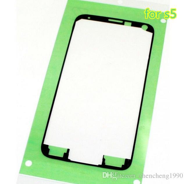 Orijinal LCD Faceplate Çerçeve Yapıştırıcı çerçeve Bant Samsung Galaxy s5 s6 Kenar Için 3 M Çıkartmalar Tutkal NOT 4 5 S7 KENAR