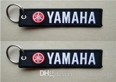 Yamaha Motorcycle Embroidery Fabric Keychain Bikers 13 X 2.8cm Electronic  Key Replacement Electronic Keys For Cars From Crewbaggage 2605b7ba72