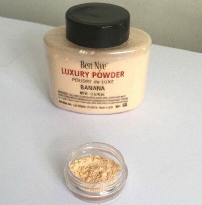 CALDO !!! Ben Nye Luxury Powder 42g Nuovo Natural Face Loose Powder impermeabile nutriente Banana Brighten Consegna veloce a lunga durata