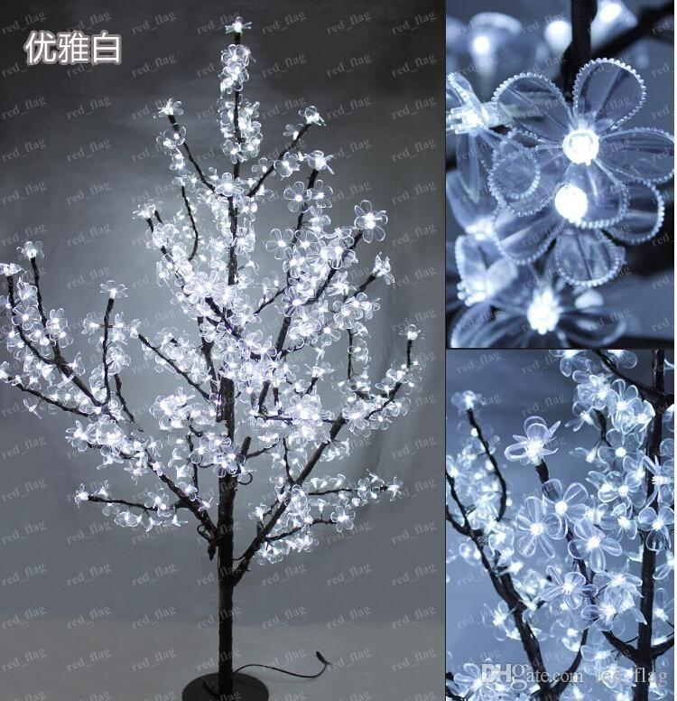 see larger image - Artificial Christmas Trees With Led Lights