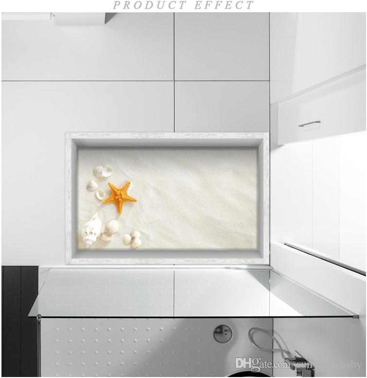 3d Starfish Baisha Non Slip Wall Sticker Creative Bedroom Floor Stickers  Hotel Bathroom Waterproof Tile Stickers Decals For The Walls Decals For  Wall From ...