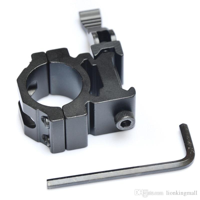 AloneFire KC14 Aluminum Compact Tactical QD Quick Release Mount Adapter Fit 20mm/21mm Picatinny Weaver Rail Base Hunting Accessories