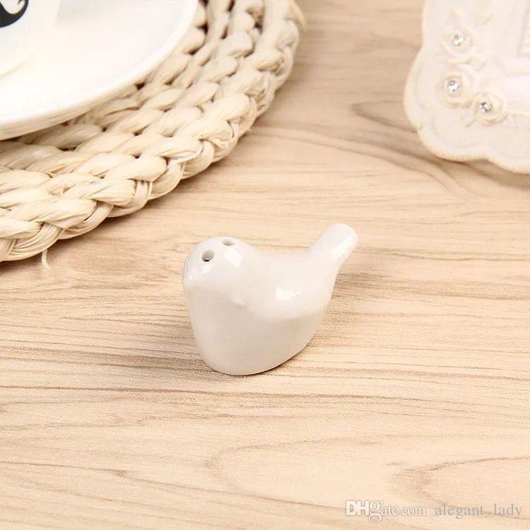Свадебные сувениры и подарки Love Birds Керамическая соль Перечница Caster Свадебные принадлежности Сувениры Свадебные подарки для гостей 2020