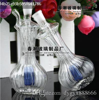Маленький тыквенный кувшин держит высоко-10см шириной 6см, цветная случайная доставка, оптовый стеклянный кальян, большой лучше