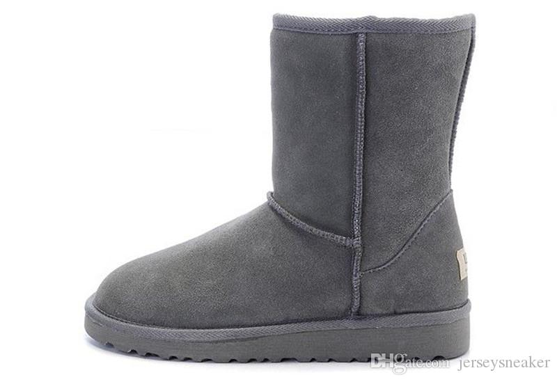2017 Winter New WGG Australia Classic snow Boots Cheap winter Knee Boots fashion discount Ankle Boots shoes many colors for woman size 5-10