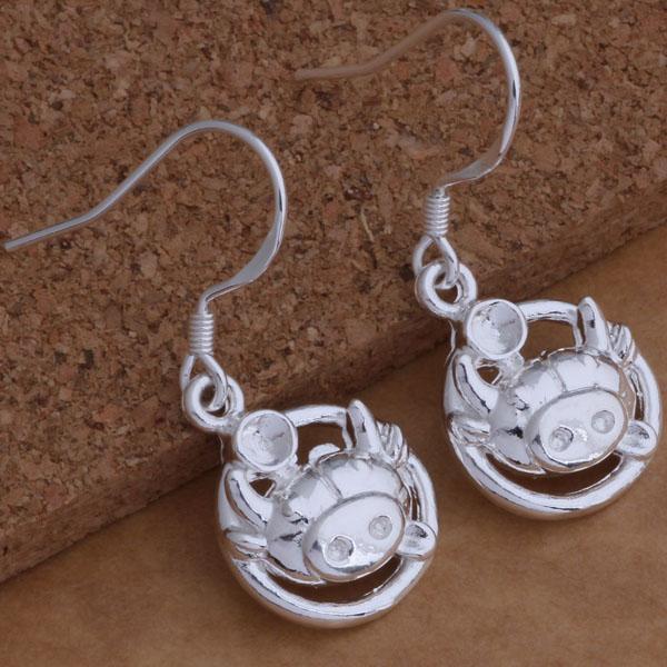 Fashion Jewelry Manufacturer 40 Stück viel Tau Ohrringe 925 Sterling Silber Schmuck Fabrik Preis Mode Shine Ohrringe