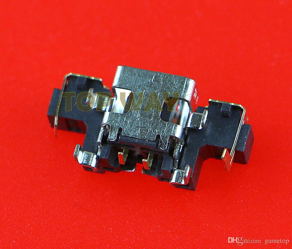 Original para new 3ds power plug dc jack tomada de energia carregador de carregamento porta conector para new 3ds xl ls 3dsxl jogo de peças de reparo