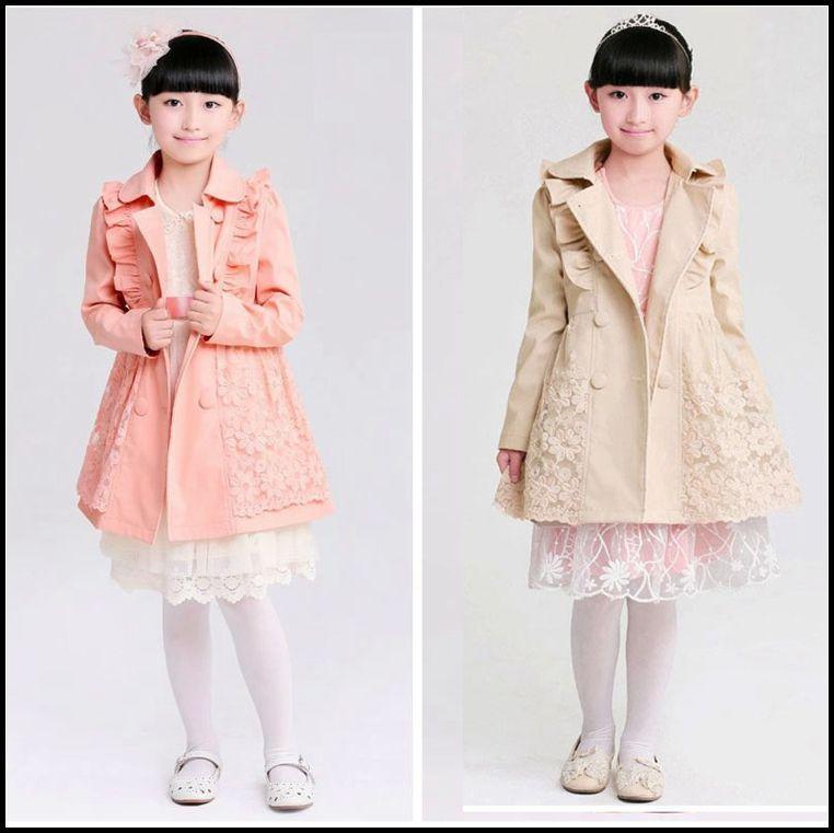 f04940f55 2015 Girls Winter Coat Kids Girl Korean Double-breasted Fashion ...