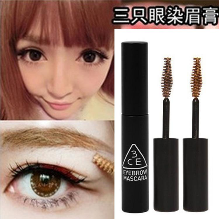 Makeup Authentic Korean Cosmetics 3Ce Three Natural Brow Color Eye Cream Eyebrow Dye -6099