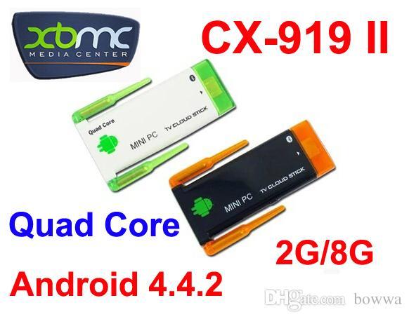 Quad core RK3188 Google smart TV Box J22 / CX919II Android 4 4 2GB RAM 8GB  ROM 1 8GHz Max Bluetooth Wifi Google TV Player HDMI CX919 II