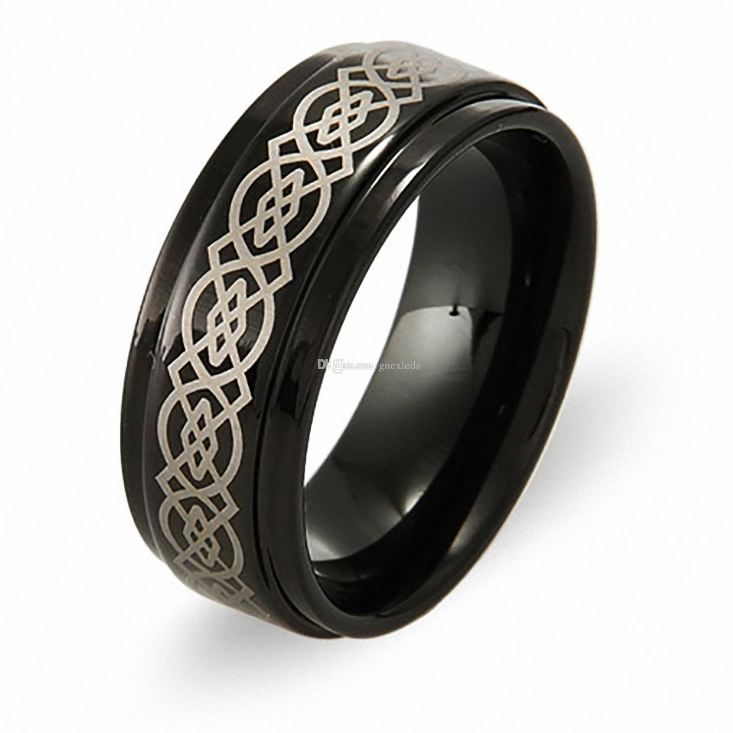 rings titanium with for fortitanium tomichbros wedding black design diamonds com