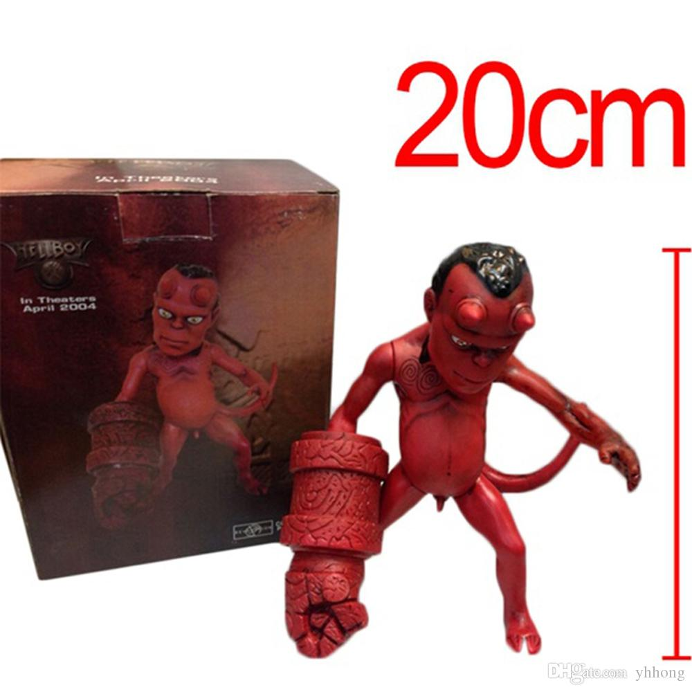 2019 Anime Movie The Golden Army Hellboy 8 20cm Pvc Action Figure