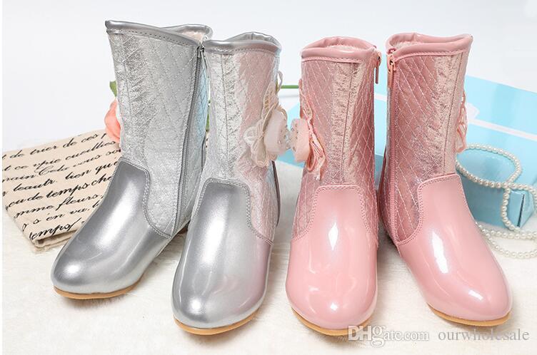 New Style Girl Boot Knee Boot High Heel Shoe Winter Warm