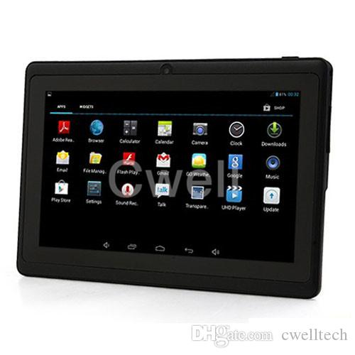 Original Boxchip Q8H 7inch Android Tablet PC Allwinner A33 quad core Android 4.4 2400mah support 3G dongle