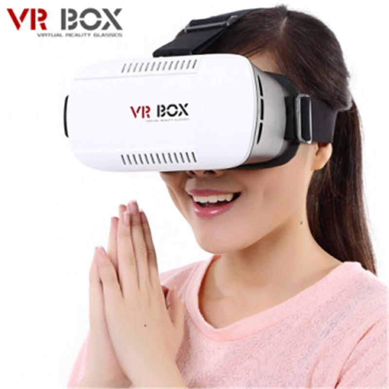 2016 ead جبل VR BOX VR نظارات نظارات الواقع الافتراضي الصدع جوجل كرتون 3D الفيلم لمدة 3.5-6.0