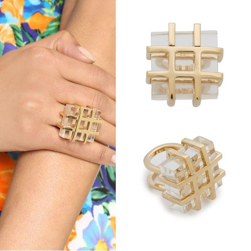 2018 2015 Fashion Women Jewelry Gold Wire Wrapped Imitated White