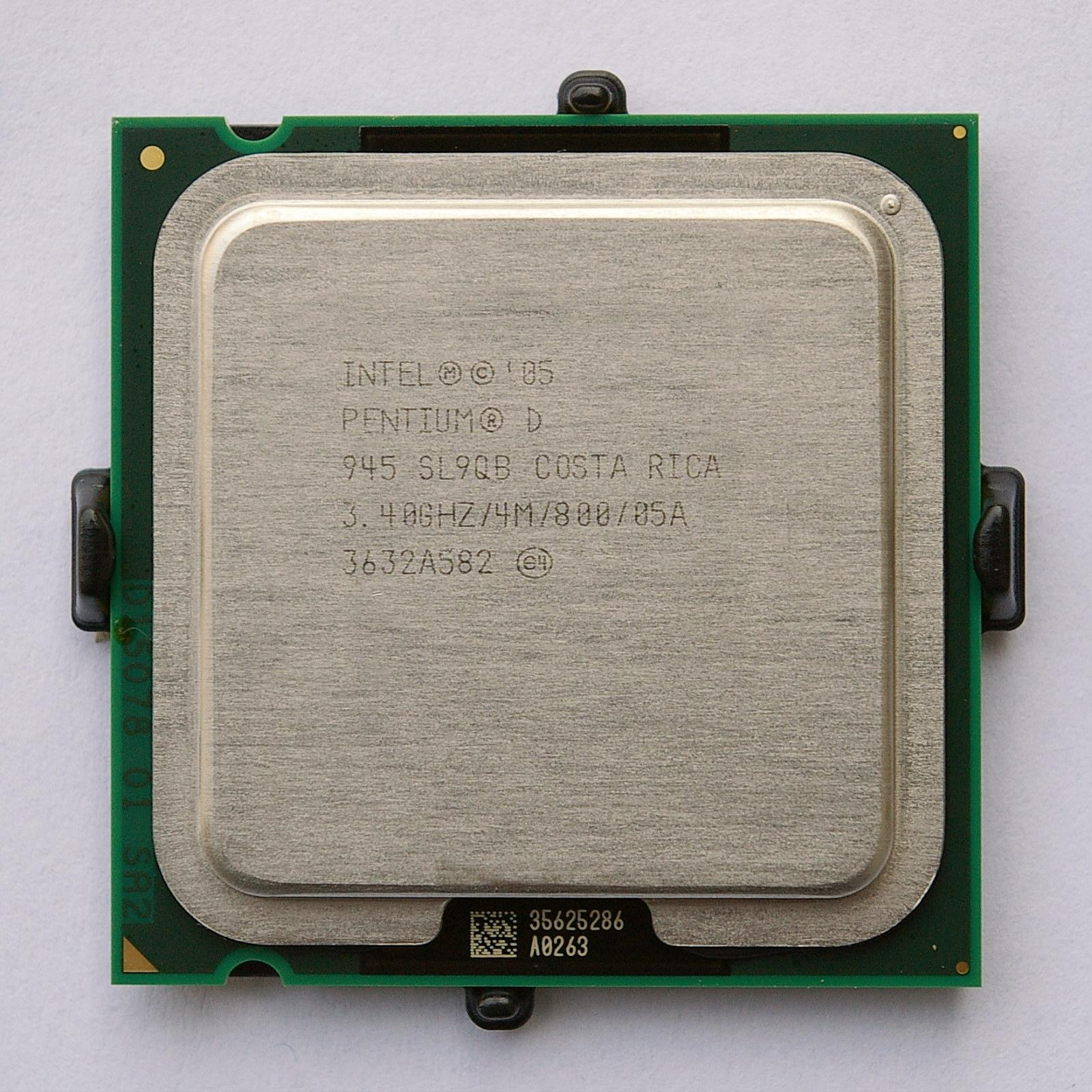 Pentium D - a series of dual-core processors: review, specifications, reviews 57