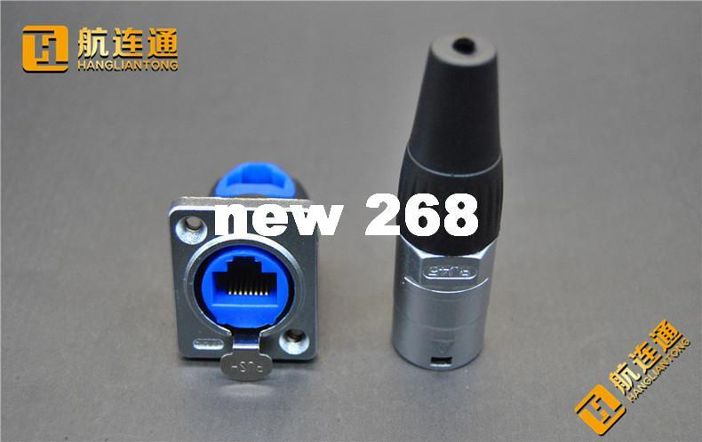 2018 Ruggdized Rj45 Data Connector And Receptacle Waterproof ...