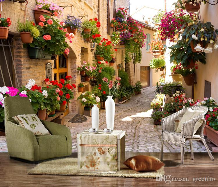 european style large size streetscape wall mural photo wallpaper room decor art wallpapers wall painting large wall art home best wallpapers