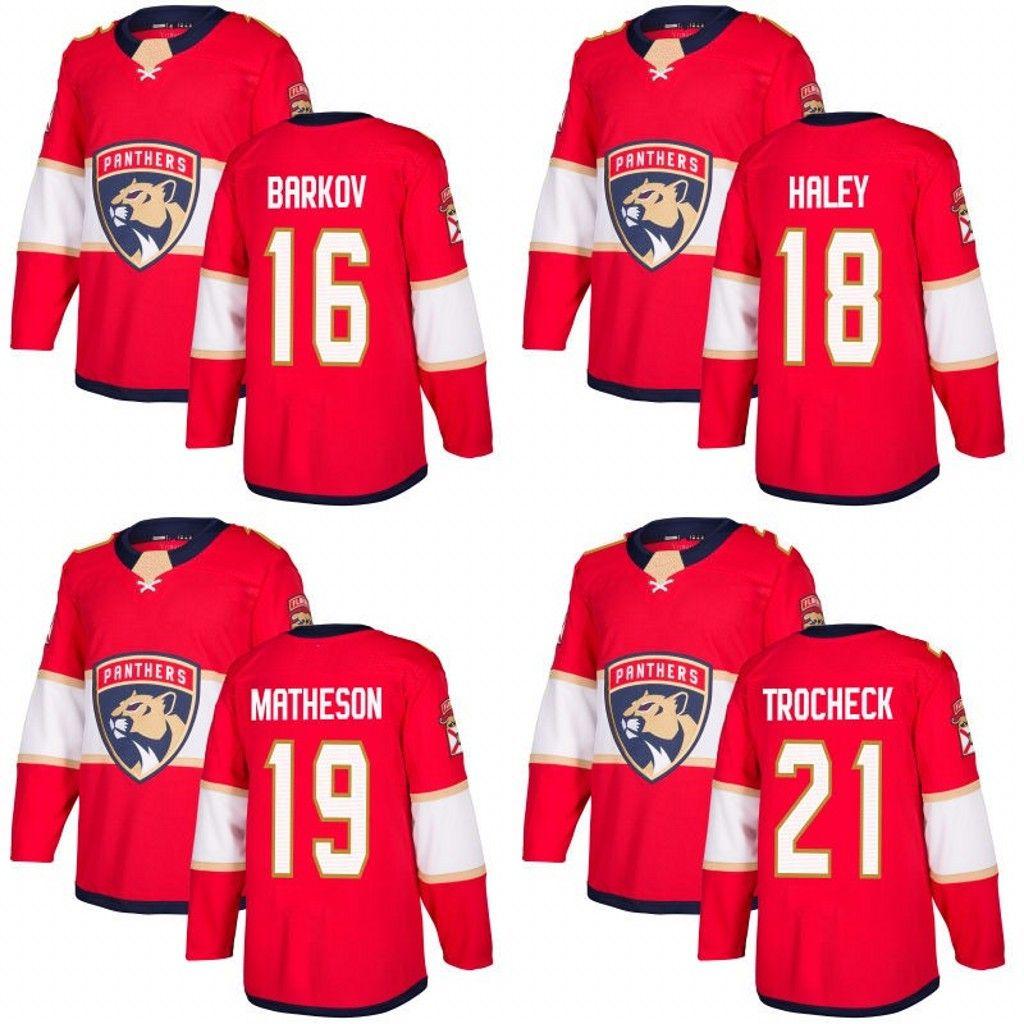 ... Jersey 16 Aleksander Barkov 19 Michael Matheson  2117f b4059 Youth  Micheal Haley Breakaway White Fanatics Branded Jersey NHL Florida Panthers  18 Away ... 65f56a788