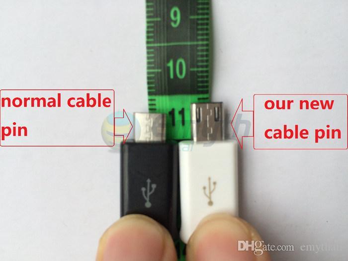 Prix le plus bas Pour IS6 S5 S4 Micro USB Câble Note 3 4 Câble Micro USB 1m 3.0 Sync Câble de données Charge Chargeur Adaptateur de câble Fil HTC