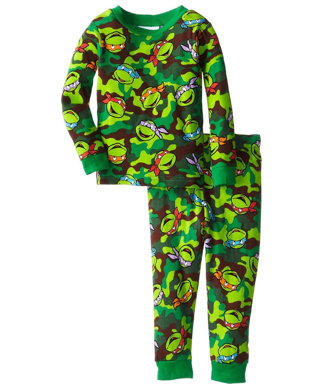2015 Hot Mutant Ninja Turtles Boys Pajamas Baby Boy Clothes Family