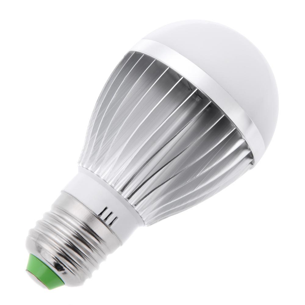 85-265V 5W/7W E27 warm white/White Light Sound & Light Sensor Motion Sensor Auto Detection LED Lamp Bulb
