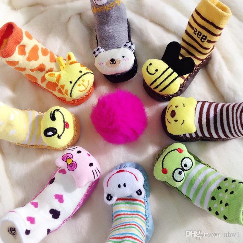 Cute Children Cartoon Sock Winter Warm Baby Kids Infant Indoor
