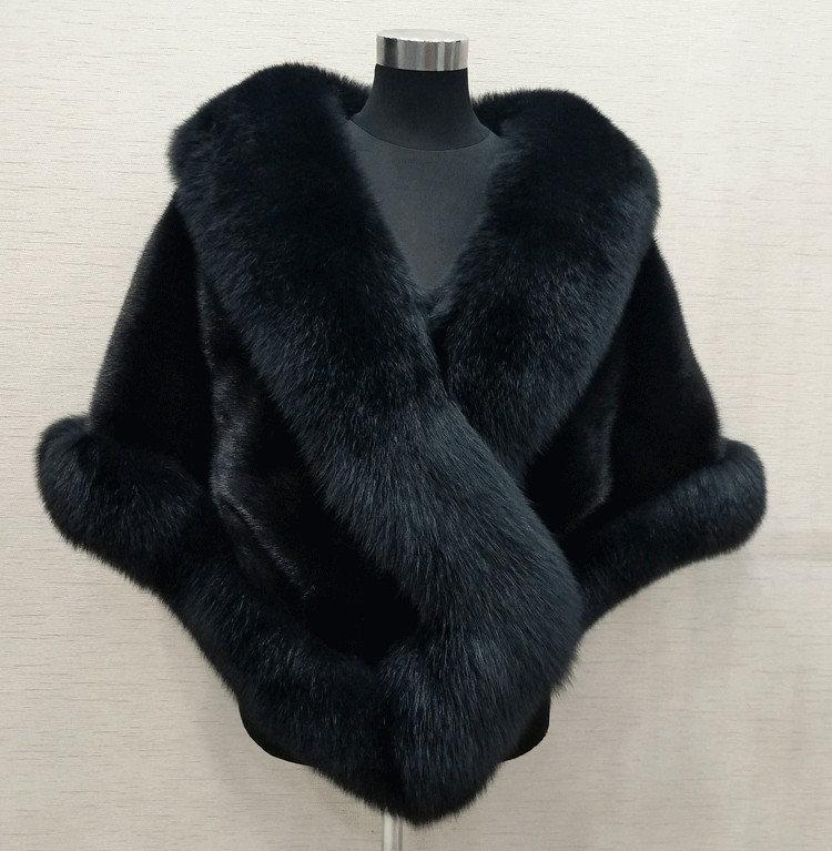 Kış Gelin Faux Kürk Sarar Sıcak Şallar Giyim Sarktı Siyah Gary Bordo Mavi Gümüş Gelin Gelinlik Ceket Balo Kokteyl