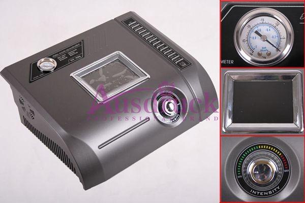 NEW Professional 6in1 Diamond Microdermabrasion Peeling Ultrasonic Massager Skin Scrubber BIO Face Lift Photon Rejuvenation Beauty Machine