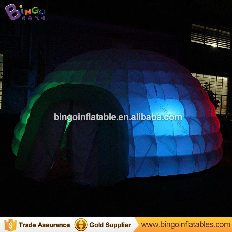 wholesale lighting dome tent type inflatables folding tent tents for