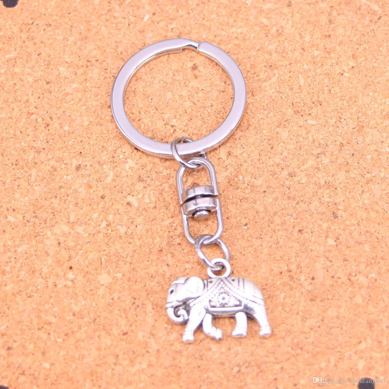 ffd040327178a5 New Arrival Novelty Souvenir Metal Thailand Mounts Elephant Key Chains  Creative Gifts Apple Keychain Key Ring Trinket Car Key Ring Designer Keychains  Key ...