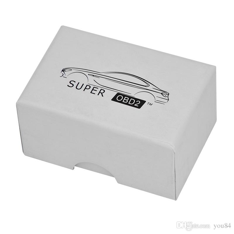 2017 Nuovo Super OBD2 Car Chip Tuning Box Plug and Drive SuperOBD2 Più potenza / Più coppia come Nitro OBD2 Chip Tuning NitroOBD2