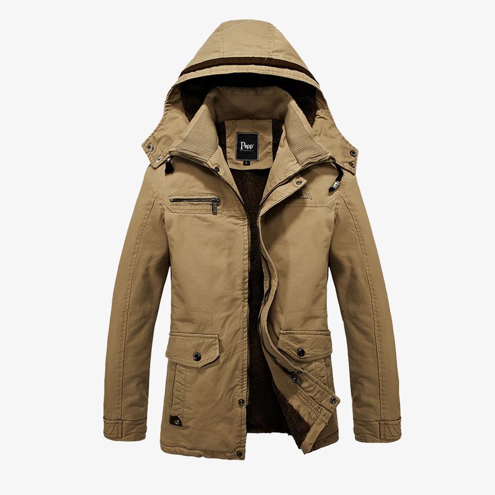 2015 Hot Selling Fashion Men Coat With Hood Winter Parkas Men ...