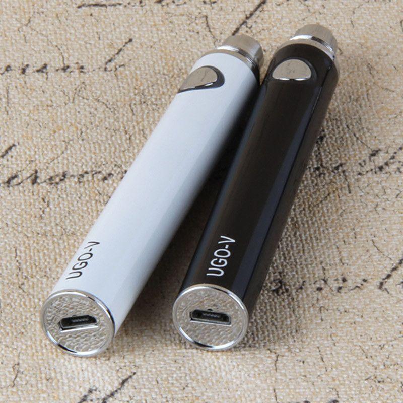 En iyi Otantik Vape Kalem USB geçmesi Ugo V pil USB buharlaştırıcı geçmesi UGO-V 650 900 mah 510 pil mt3 ce4 e sigara atomizer