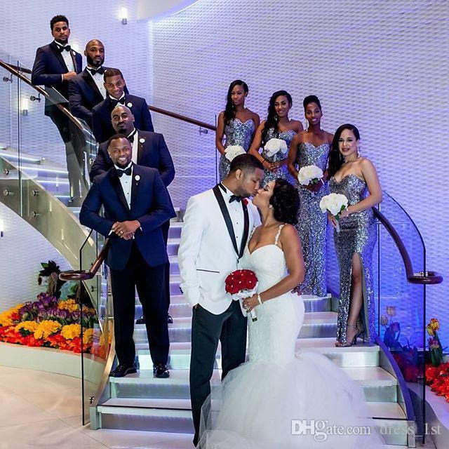 حار 2016 يشبع السباغيتي الوهم عودة حورية البحر زائد الحجم فساتين زفاف متواضع جنوب أفريقيا تول قطار مصلى أثواب الزفاف EN3082