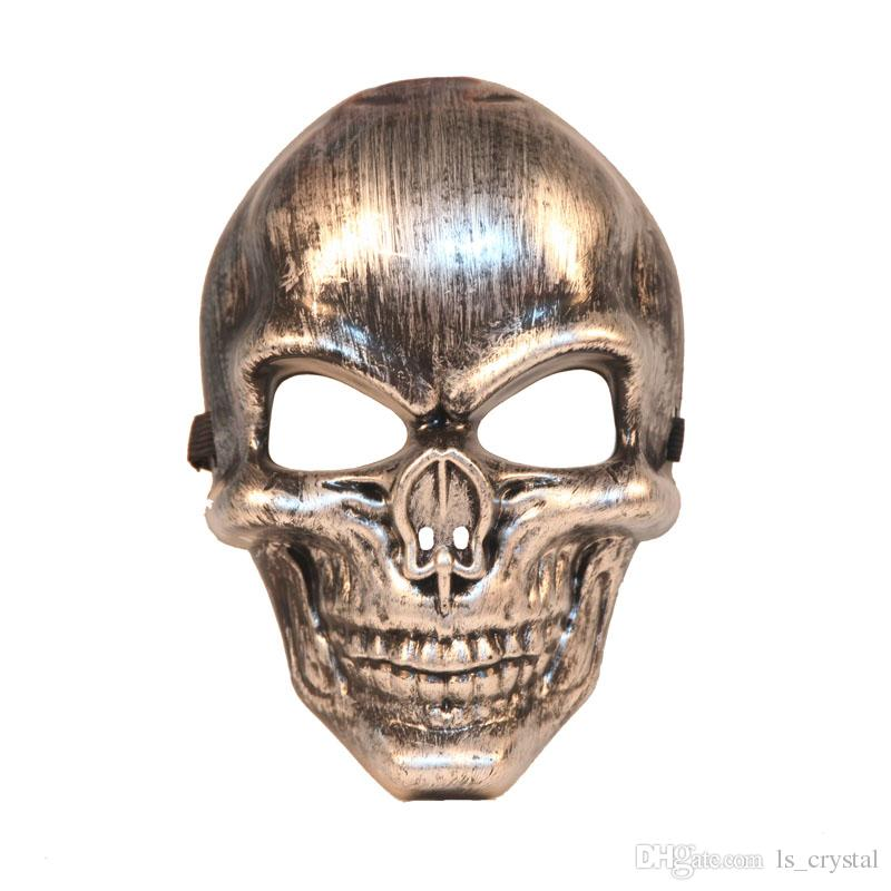 halloween cool skull mask full face masquerade party horror mask feild battle cs cosplay props sd979 eye masks costume eye masks for halloween from - Cool Masks For Halloween