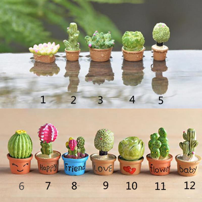 2018 Mini Flower Trees Miniature Plants Garden Decor Fairy Home Houses  Decoration Crafts Diy Accessories From Oppodo, $6.23 | Dhgate.Com
