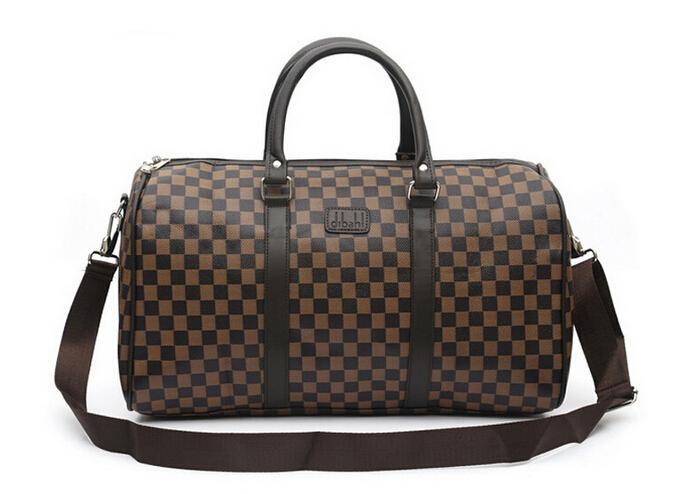 fa155912749 2019 2015 Designer Leather Gym Bags Sport Bags Duffel Bag Messenger  Handbags Bags Women Brand Items From Kevinliuv88,  31.47   DHgate.Com