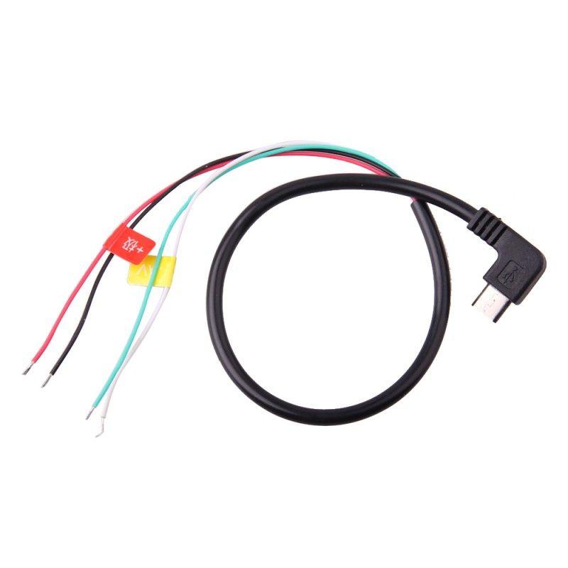 2016 new Original SJCAM Accessories Micro USB to AV Out Cable for SJ4000/SJ5000/M10 Series Sport Action Camera FPV DHL